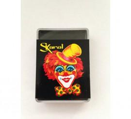 Cajita de maquillaje graso de color Negro de 25 gr.