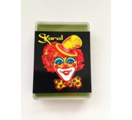 Cajita de maquillaje graso de color Verde Claro de 25 gr.
