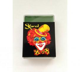 Cajita de maquillaje graso de color Verde Oscuro de 25 gr.