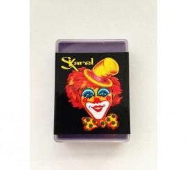 Cajita de maquillaje graso de color Violeta de 25 gr.