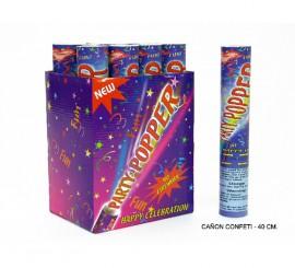 Cañón o Tubo de Confeti de 40 cm. para Bodas y Celebraciones