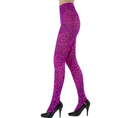 Pantys de Leopardo color Rosa