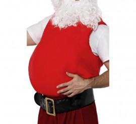 Barriga de Papá Noel en color Rojo para Navidad