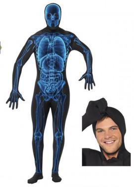 Disfraz Segunda Piel Rayos X para Hombre