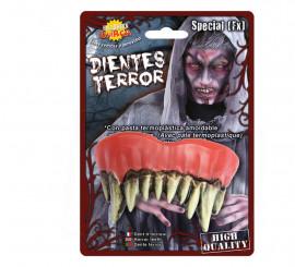 Dentiers de Monstre Zombie pour Halloween