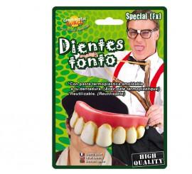 Dientes o dentadura de tonto