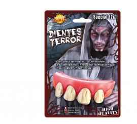 Dientes o dentadura de Jorobado para Halloween