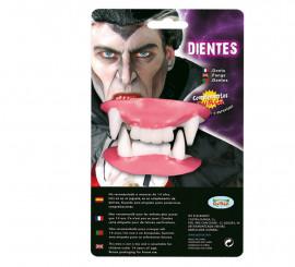 Dientes de Drácula o Vampiro para Halloween