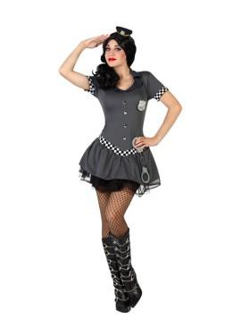 Disfraz para mujer de Policía Tutú sexy