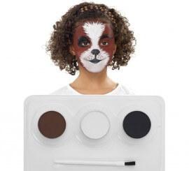 Kit Maquillage à l'eau Animaux de 3 coloris
