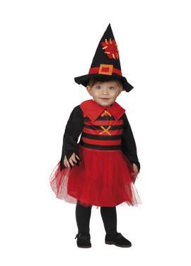 Disfraz para bebés de Bruja roja tutú