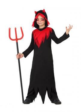 Disfraz de Demonio Fuego para niños