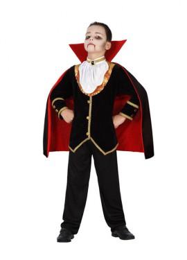 Disfraz de Vampiro Lujo para niños