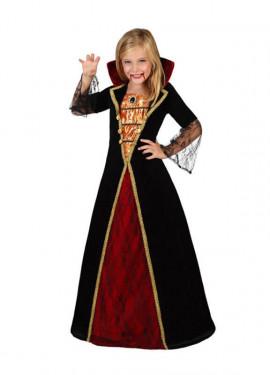 Disfraz de Vampiresa Lujo para niñas