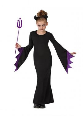 Disfraz para niñas de Reina de las Tinieblas