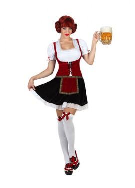 Déguisement traditionnel d'Allemande pour Femme plusieurs tailles