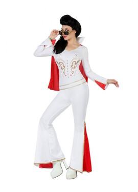 Déguisement de Compagne d'Elvis King pour Femme plusieurs tailles