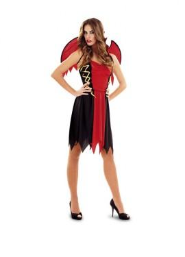 Disfraz de Demonio para mujer talla M-L