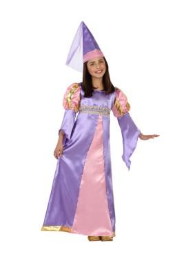 Disfraz para niñas de Princesa Medieval