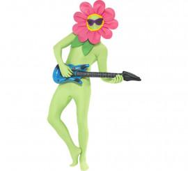 Kit de Flor Bailarina: Máscara de Flor con Gafas y Guitarra