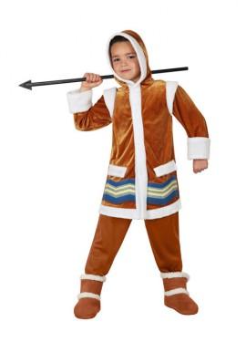 Disfraz de Esquimal para niños