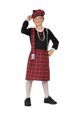 Déguisement Enfants Garçon Écossais plusieurs tailles