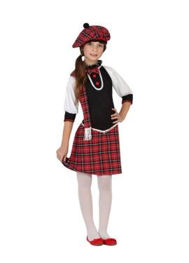 Déguisement Enfants Fille Écossaise plusieurs tailles