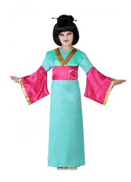 Déguisement de Geisha avec ceinture pour enfants plusieurs tailles