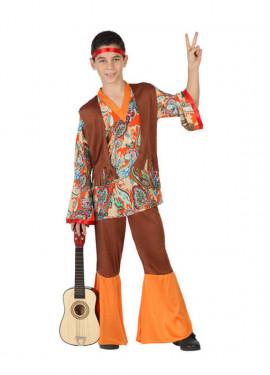 Disfraz para niños de Hippie Estampado