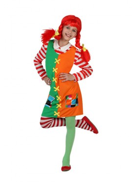 Disfraz de Pipi niña Traviesa para niñas