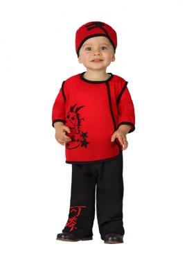 Disfraz de Chino rojo para bebés
