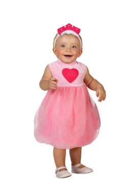 Disfraz de Princesa Rosa para bebés