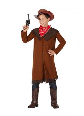 Disfraz para niños de Vaquero marrón
