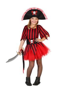 Déguisement Enfants Fille Pirate Tutu plusieurs tailles