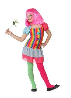 Disfraz de Payasa Alegre para niñas