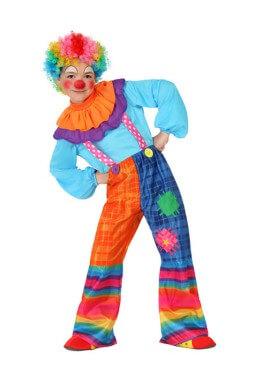 Allegro costume da clown per bambini