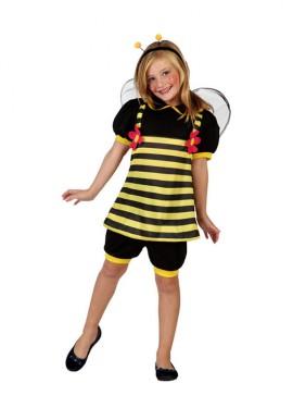 Disfraz de Abeja con margaritas para niñas