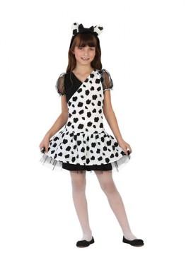 Déguisement Enfants Fille Dalmatien plusieurs tailles