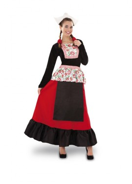 Disfraz de Holandesa para mujer talla M-L