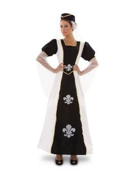 Disfraz de Duquesa de Lis para mujer talla M-L