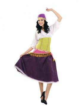 Disfraz de Zíngara para mujer talla M-L