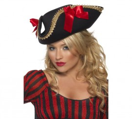 Sombrero Mujer Pirata Fever