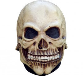 Máscara de Calavera infantil látex para Halloween