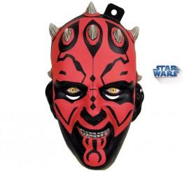 Máscara de Darth Maul de Star Wars para adultos