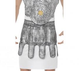 Falda de Armadura Romana color Plata