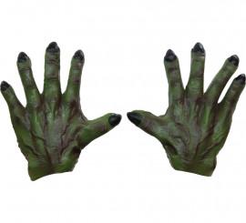 Manos de Monstruo Verdes para Halloween