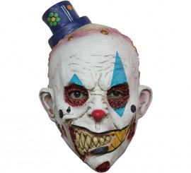 Masque Enfant Clown ou Mime en Latex Halloween