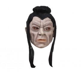 Masque de Samouraï en Latex avec cheveux de 280 gr