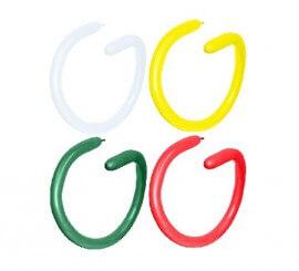 Bolsa de 20 Globos Globoflexia de Latex Fashion de colores