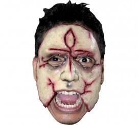 Masque d'Assassin Demi-visage en Latex (12)
